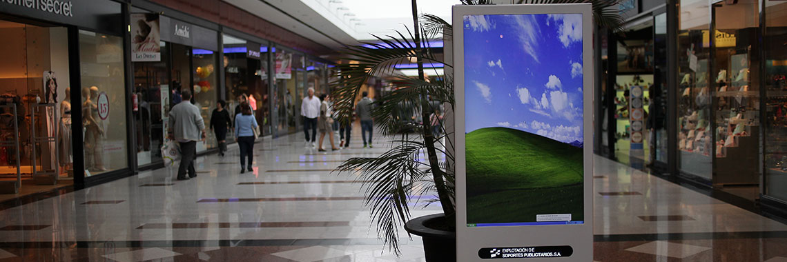 Advertising Screens in Las Dunas