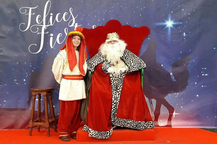 The Three Kings in Las Dunas